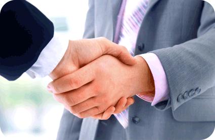 Handshake_rounded